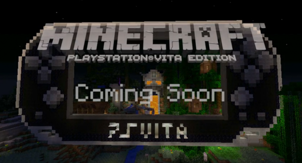 ▶ Minecraft- PlayStation Vita Edition - YouTube