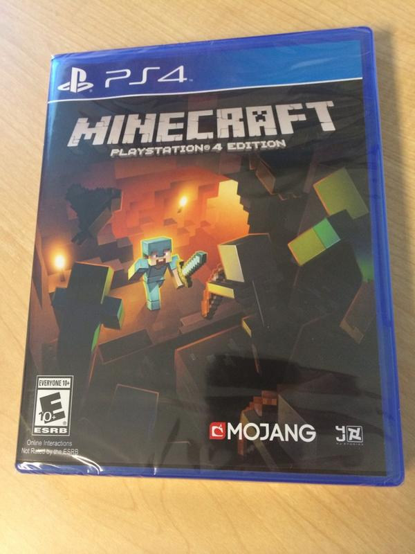 PS4 minecraft パッケージ
