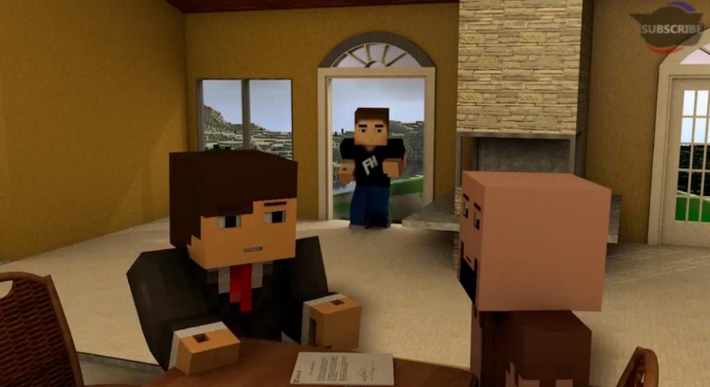 MINECRAFT MESSAGE TO MICROSOFT! (Minecraft Animation) - YouTube2