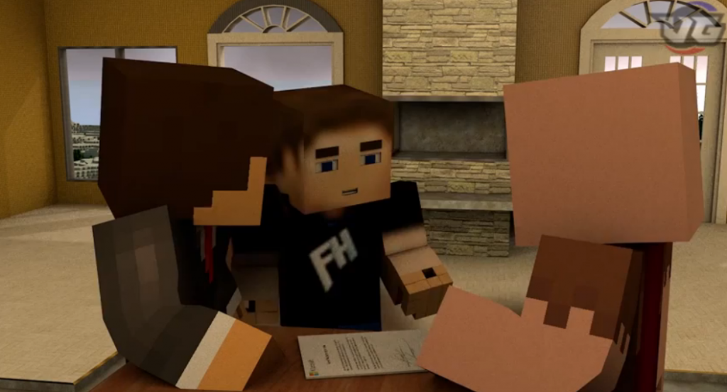 MINECRAFT MESSAGE TO MICROSOFT! (Minecraft Animation) - YouTube3