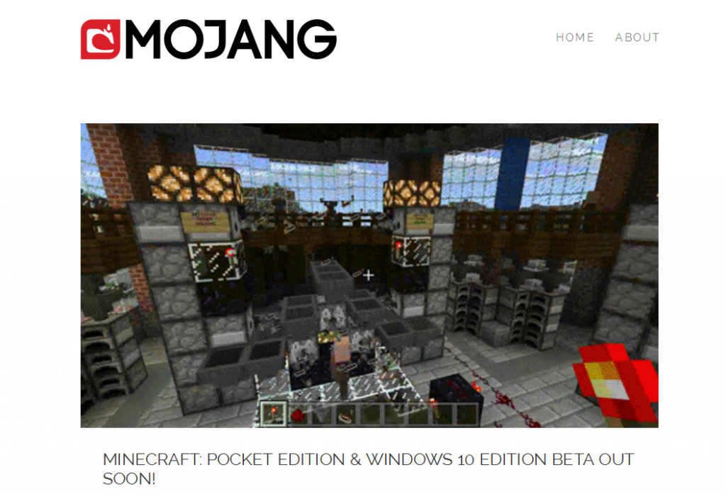 Minecraft- Pocket Edition & Windows 10 Edition Beta out soon!