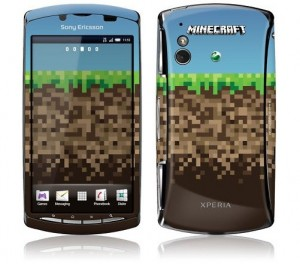 Minecraft Limited Edition Sony Ericsson Xperia Play